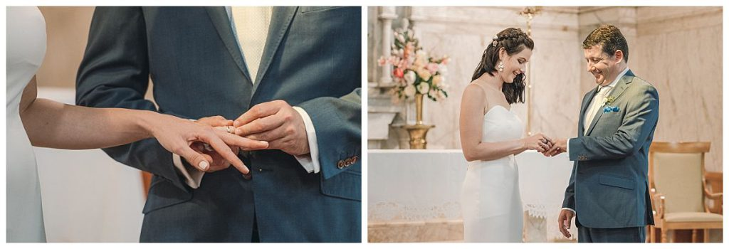 the-Sacred-Hearts-Catholic-Church-in-Mosman-wedding-ring-echange-photo