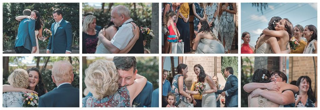 the-Sacred-Hearts-Catholic-Church-in-Mosman-wedding-guets-congratulations-photo