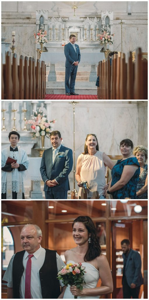 the-Sacred-Hearts-Catholic-Church-in-Mosman-wedding-cremony-photo