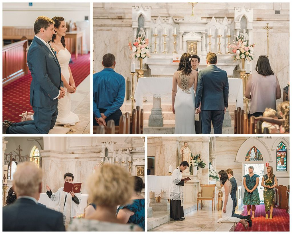 the-Sacred-Hearts-Catholic-Church-in-Mosman-wedding-ceremony-photo