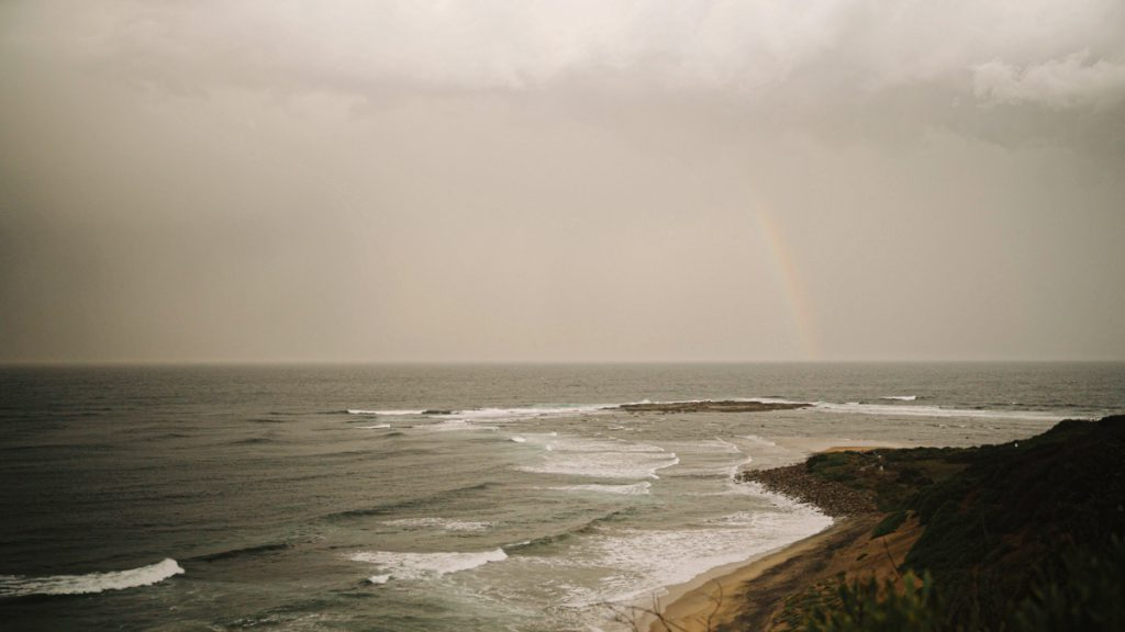 rainbow-at-long-reef-wedding-video