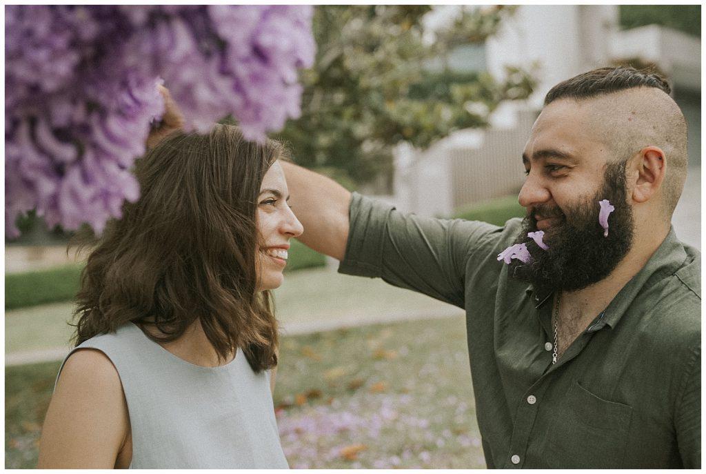 a-couple-portrait-under-jacaranda-tree-photo