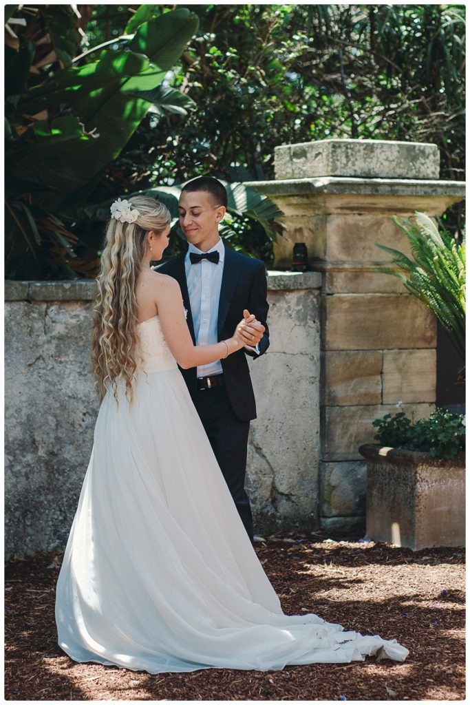 first-dance-sydbey-wedding-photo